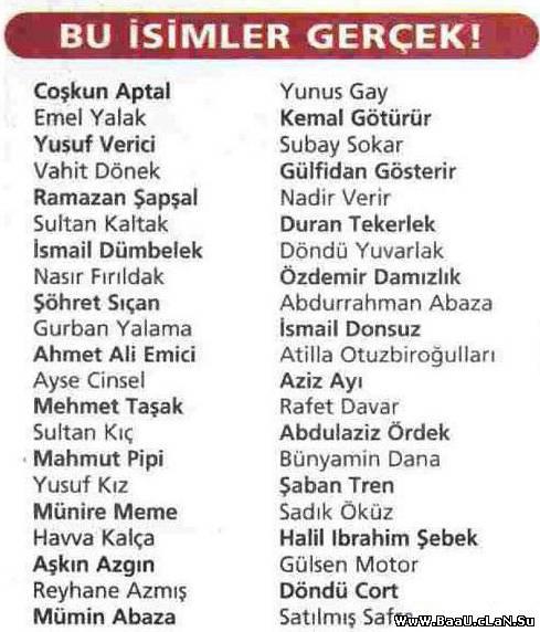 Azerbaycanın her bir kendinden yığılan en komik adlar!