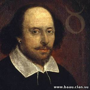English writer William Shakespeare.